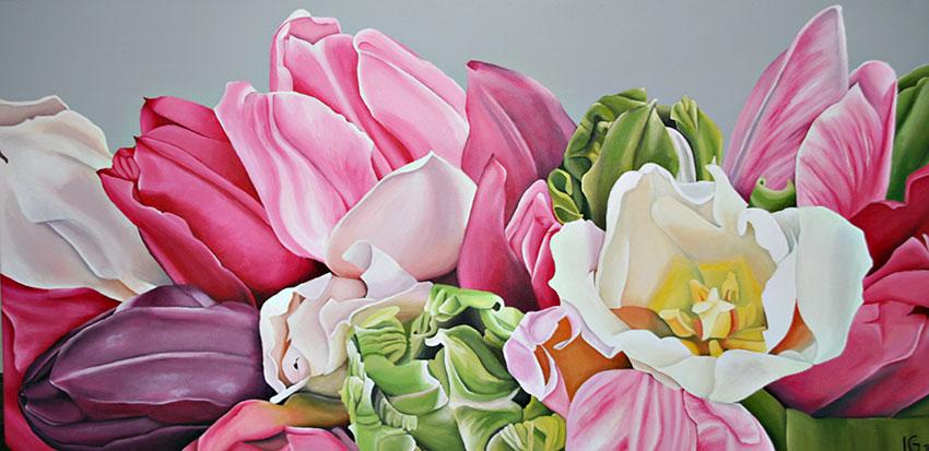 Tulpen Pink - Frühlingserwachen